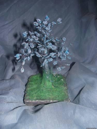 Дерево из бисера из аватара